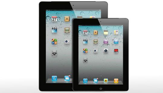 iPad 3 y iPad 8 pulgadas