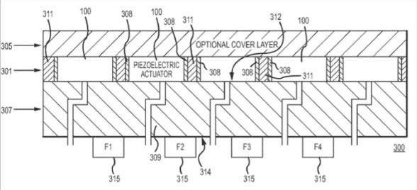 Patente Apple Sensación táctil