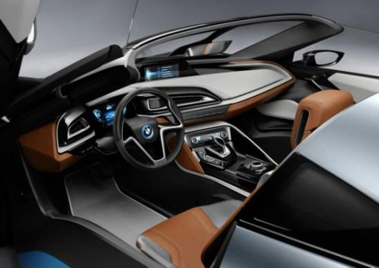 BMW i8 Cabina