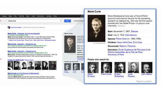 Búsqueda Semántica Google