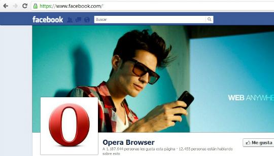Navegador Facebook