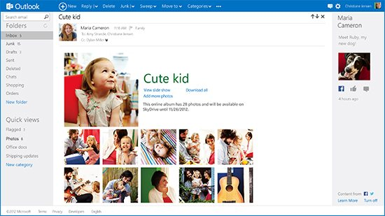 Outlook.com People Hub