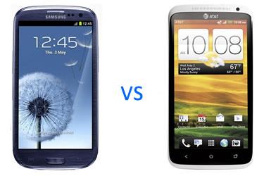 Samsung Galaxy S3 HTC One X