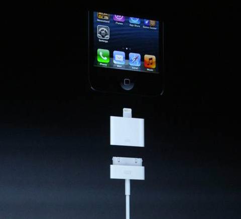 Adaptador Conector iPhone 5