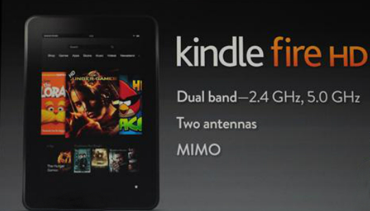 Amzon Kindle Fire HD