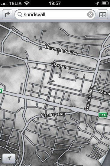 Apple Maps iOS 6 Fallas