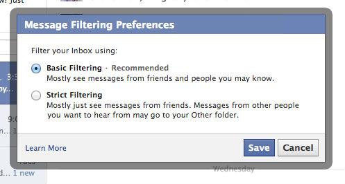 Facebook Inbox Pago