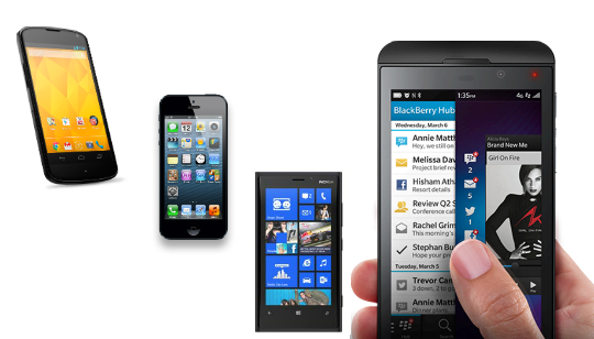 Comparación BlackBerry Z10