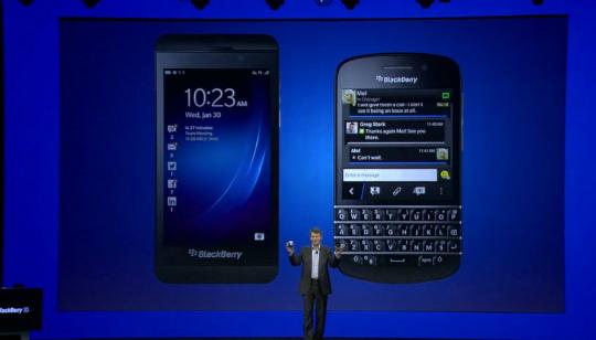 Novedades BlackBerry 10