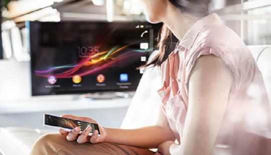 Sony Comparitr Contenido NFC