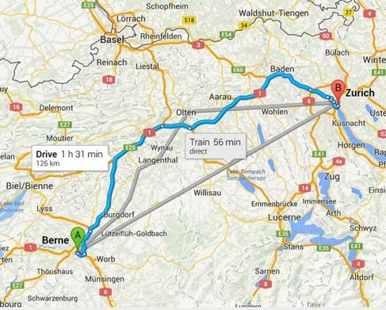 Direcciones nuevo Google Maps