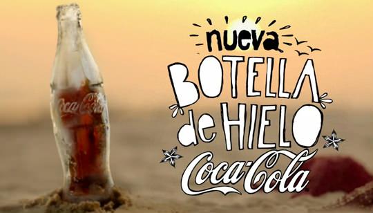 Botella de Hielo Coca-Cola