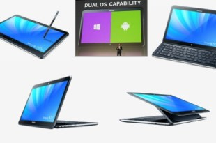 Samsung Ativ Q Android Windows