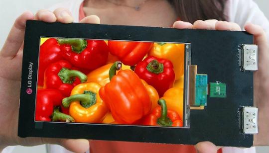 LG Quad HD Pantalla