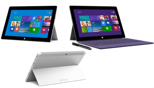 Surface 2 Surface Pro 2