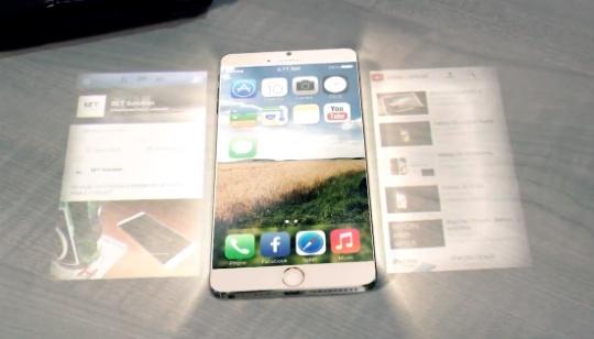 iPhone 6 con hologramas