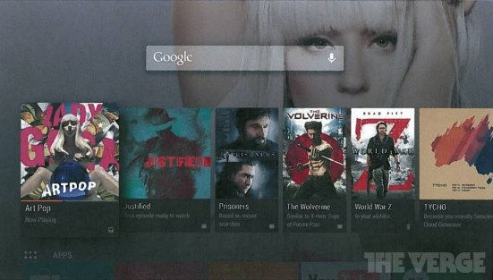 Android TV Gogole