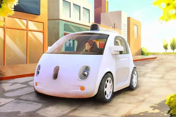 Carro autonomo Google Prototipo