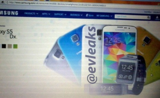 Samsung Galaxy S5 Dx Galaxy S5 Mini