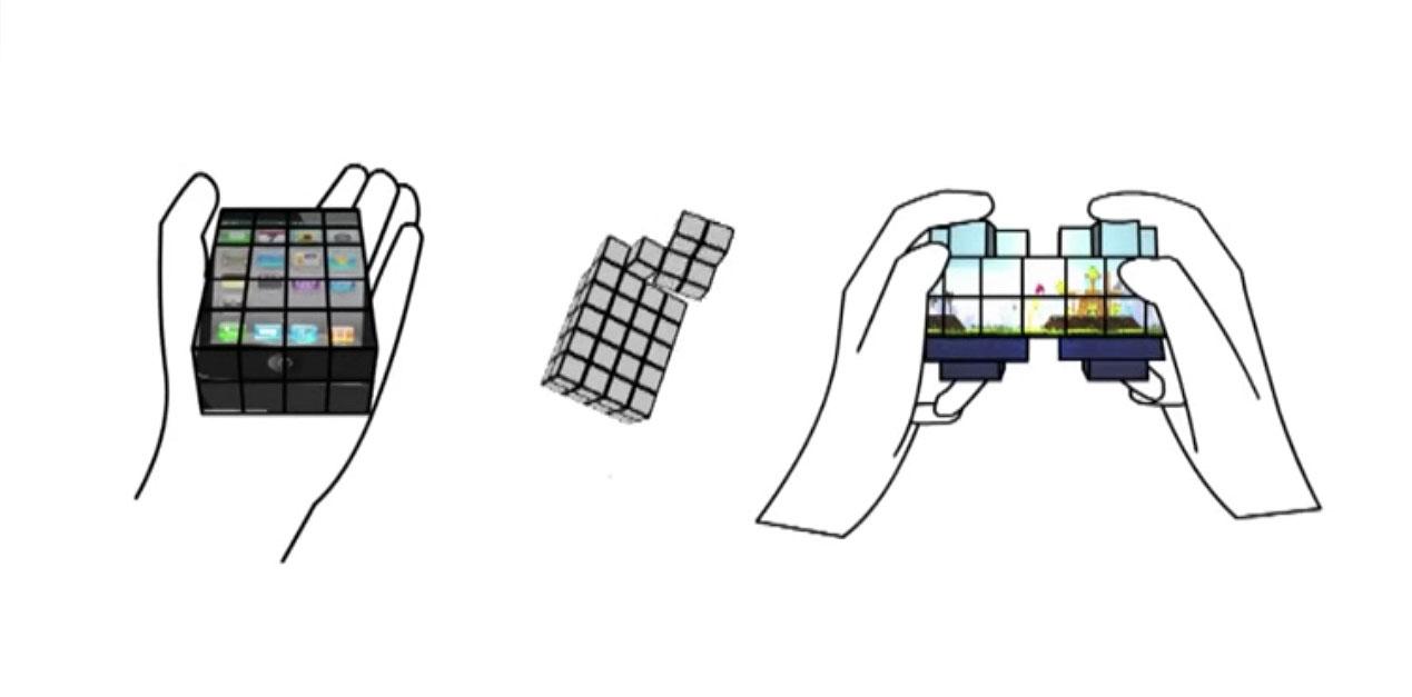 Cubimorph es un celular que puede cambiar de forma según
