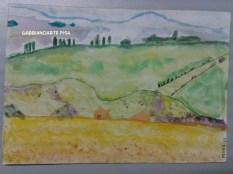 Federico, acquerello su cartoncino