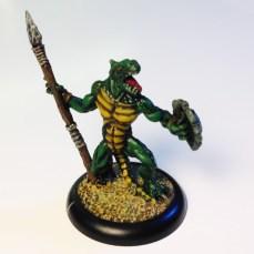 Reaper Bones Lizardman