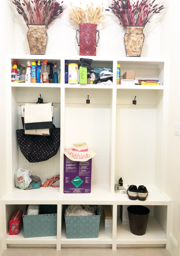 Laundry Room Revamp & Organization