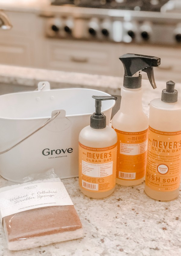 New Year, Clean Home with Grove