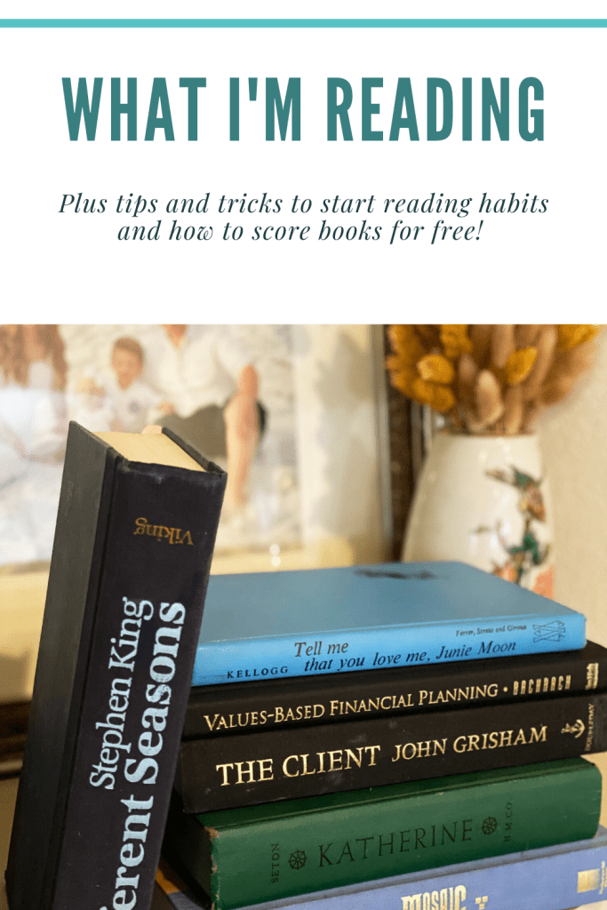 Tips and tricks to reading and saving money plus what I'm reading now.