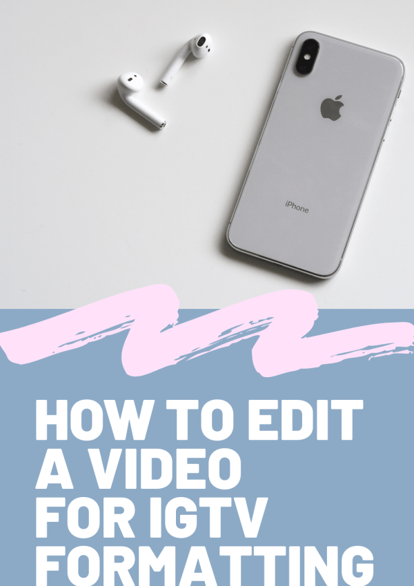How to resize IGTV video