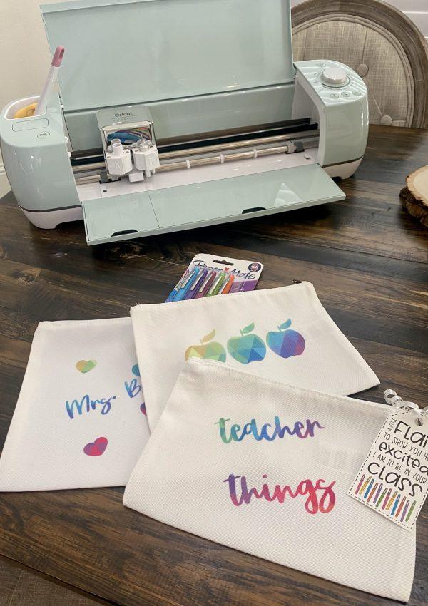 Cricut Customized Teacher Gifts