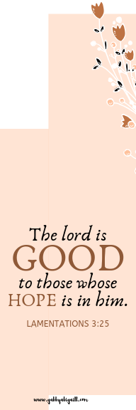 the lord is God template