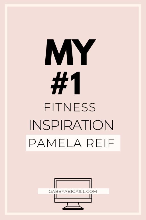 my #1 fitness inspiration Pamela reif