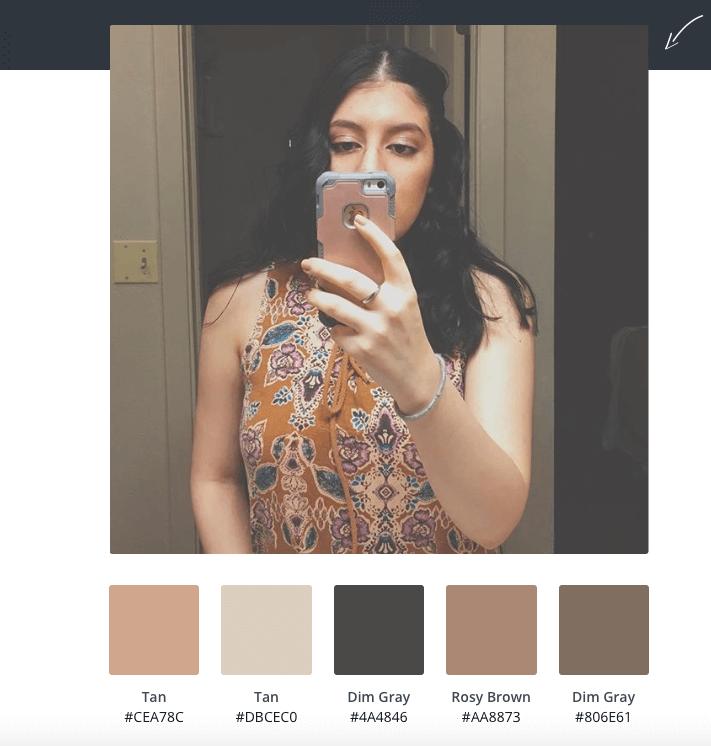Gabby color palette