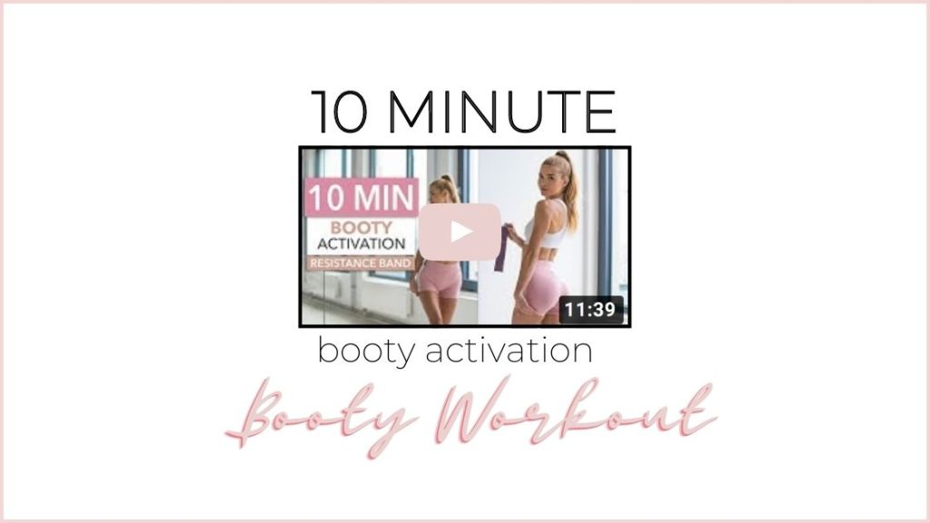 10 minute booty activation workout
