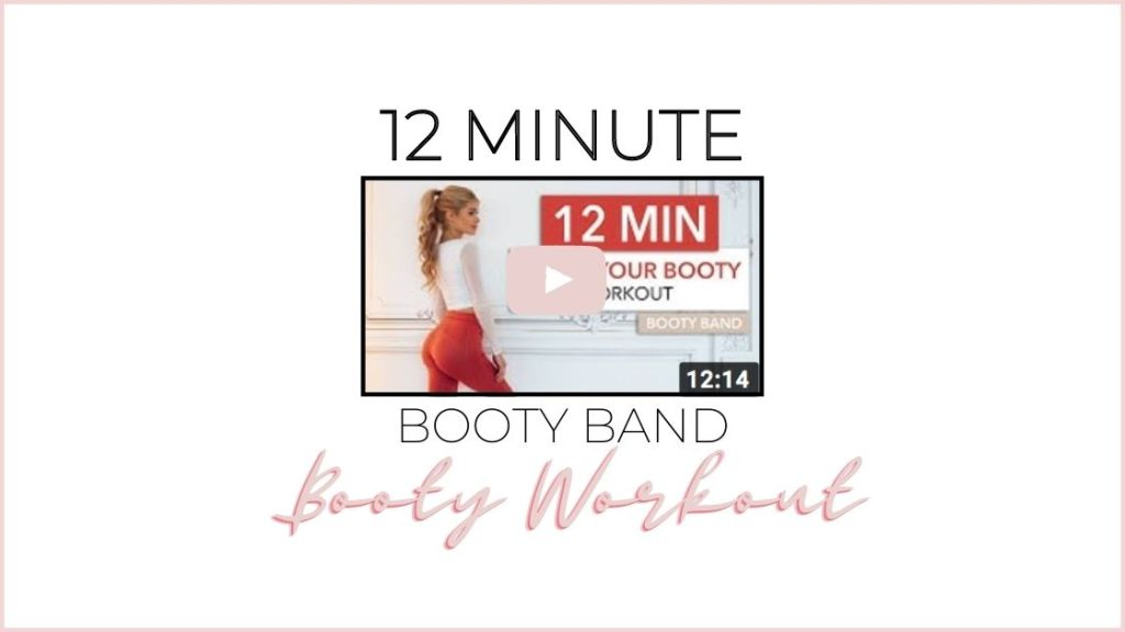 12 minute resistance band workout