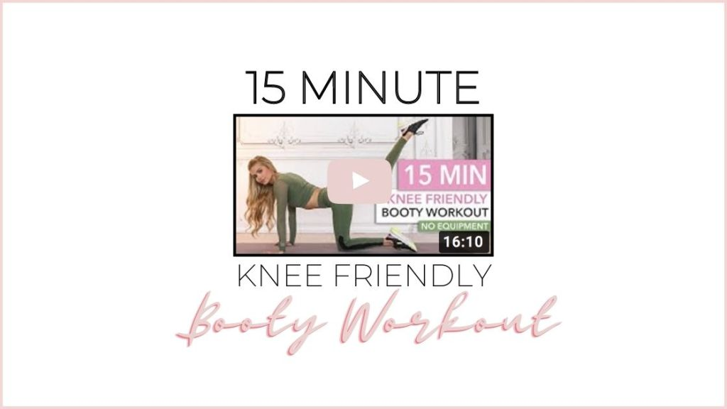 15 minute knee friendly glutes workout