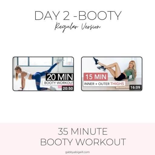 day 2 booty regular version