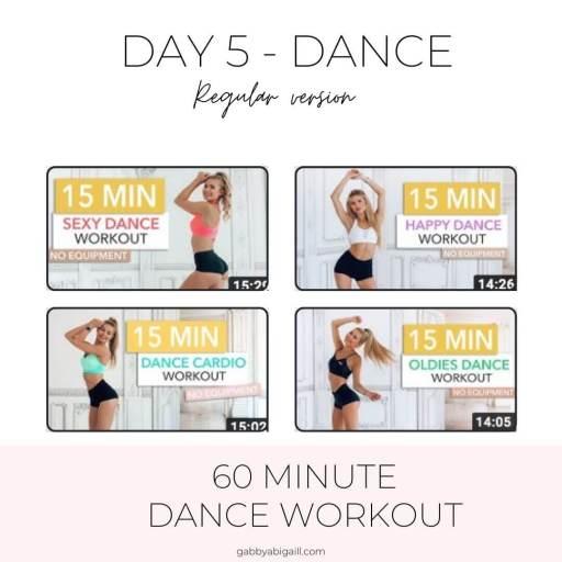 day 5 dance regular version