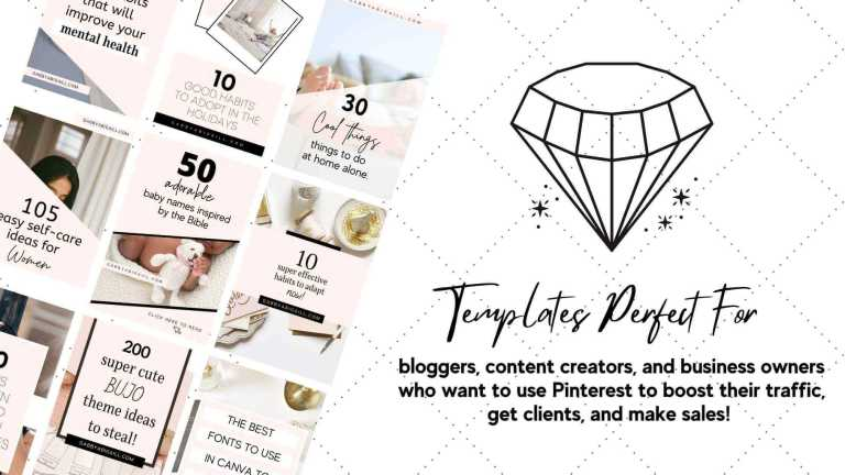 pinterest templates perfect for