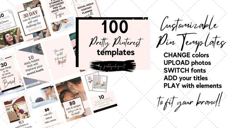 templates that are customizable on canva