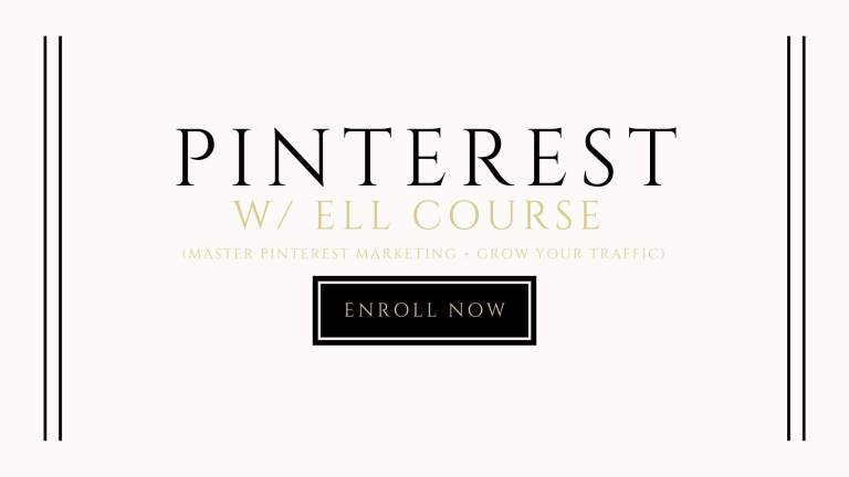 pinterest with ell course