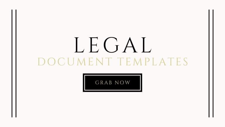 legal document templates