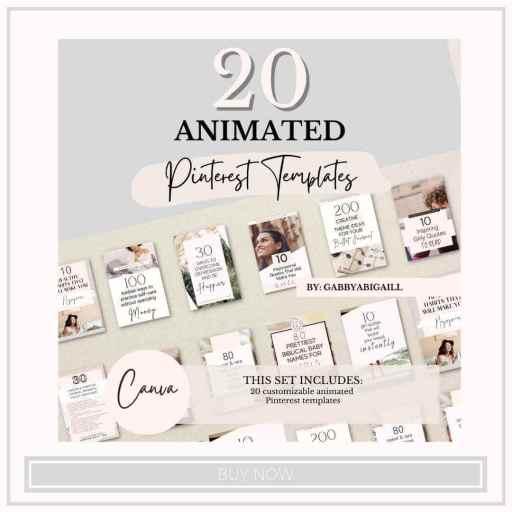 20 animated pinterest templates shop