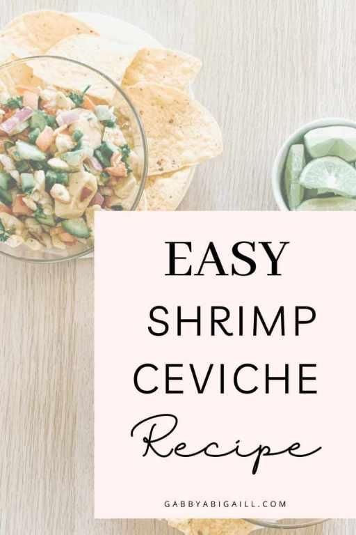 easy shrimp ceviche recipe