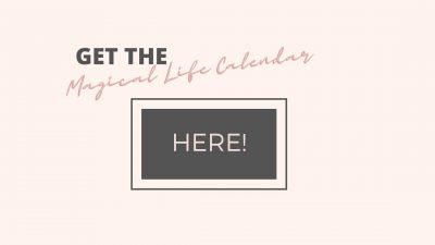 magical life calendar purchase button