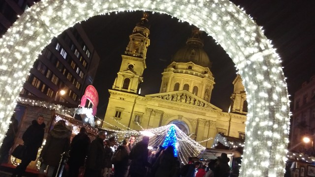 hidden gems of Budapest hungary travel Christmas market
