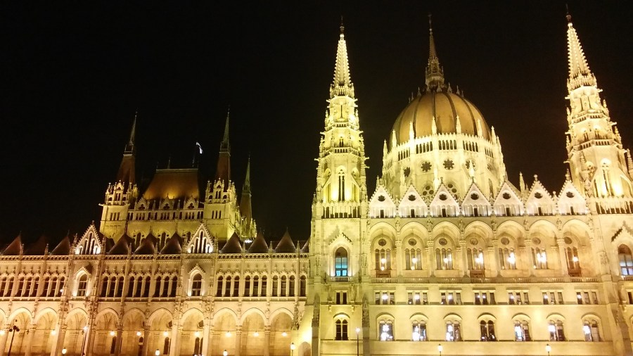 parliament building Budapest Hungary europe travel photo