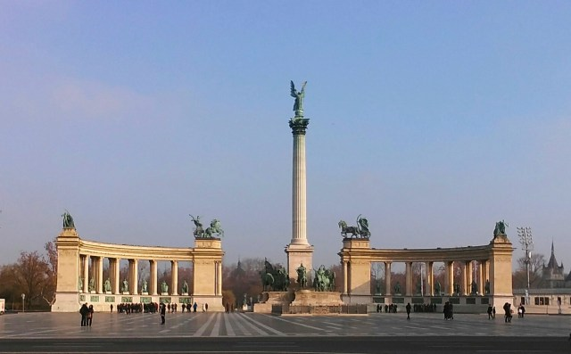 hidden gems of Budapest hungary travel heroes square