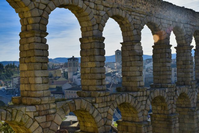 roman aqueduct spain day trips from madrid